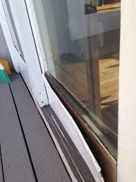 Patio Door Weatherstripping Pella Sliding Glass Door Weatherstripping Sliding Doors Design