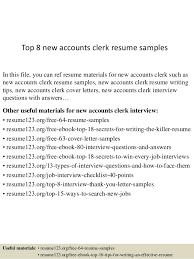 accounting clerk resume samples examples of resumes objectives 22