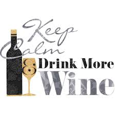 keep calm drink wine quote peel and stick wall decals walmart com