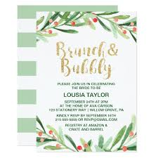 christmas brunch invitations christmas wreath brunch bubbly card zazzle