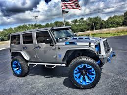 jeep sahara lifted 2017 jeep wrangler unlimited custom lifted leather hardtop florida