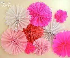 Famosos Como fazer Flores de leque papel crepom - Monta Encanta #UO75