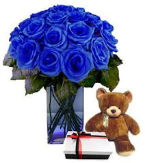 blue roses delivery send valentines blue roses w chocolate to cebu gift