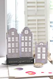diy dutch house luminaries instructions here templates in