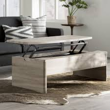 round lift top coffee table faux marble lift up tabletop hand