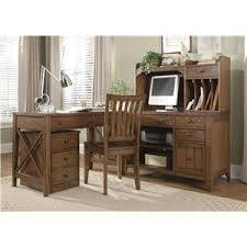 liberty furniture hearthstone mission style buffet with china