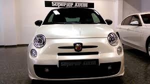 Fiat 500 Abarth White Abarth 500c 190 Bhp Pearl White