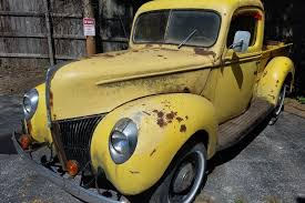 Classic Ford Truck 1940 - one owner barn find 1940 ford pickup