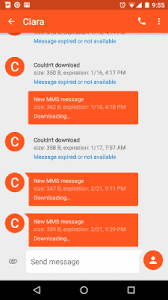 android text messages stuck downloading or expired - Messages Not Downloading Android