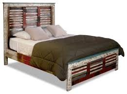 beach style beds solid wood distressed style bed beach panel beds with regard to