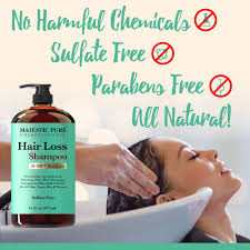 amazon com hair loss shampoo for men u0026 women from majestic pure