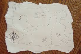 Old Treasure Map Raising Leafs Make It Monday Treasure Map