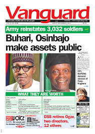 buhari osinbajo make assets public by vanguard media limited issuu