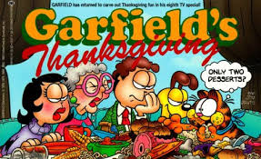 garfield s thanksgiving jim davis 9780345356505 books