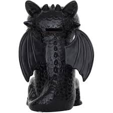 how to train your dragon toothless dragon figrual ceramic bank