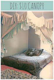 91 best canopy dreams images on pinterest bed canopies diy diy 10 1 hour canopy 2 bed sheets 2 bed skirts