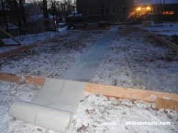 Build A Backyard Ice Rink First Time Building A Backyard Ice Rink U2013 Day 2 Construction