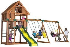 Big Backyard Swing Set The Best Swing Sets For Older Kids