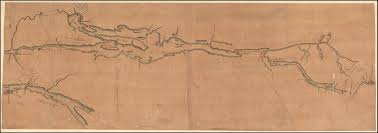 Map Of Montreal A Map Of Lake Champlain And Lake George Showing The Route From