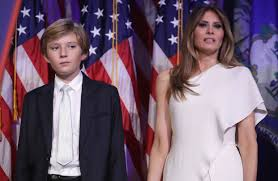 donald trump u0027s wife youngest son won u0027t immediately join him in