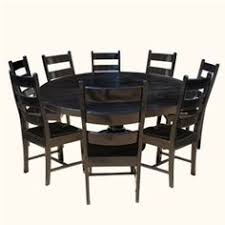 round table sierra college dallas ranch 13pc square pedestal large dining table chair set