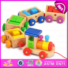 china oem welcome baby early learning toys wooden toy train high