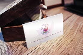 fate beauty business card u2013 yh design studios