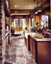 tuscan kitchen decor design ideas home interior designs love this floor home things pinterest kitchens house and future