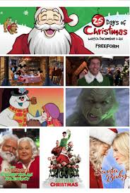 2017 freefrom schedule for 25 days of christmas movies wheel n