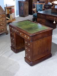 Small Bureau Desk Uk Small Pedestal Desk Antique Desk Leather Top Desk Vintage Desk