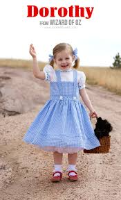 Easy Toddler Halloween Costume Ideas Diy Dorothy Costume From Wizard Of Oz Via Make It And Love It