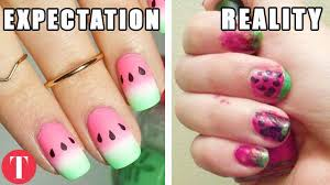 10 nail art fails that should have never left the house youtube