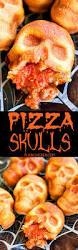 pizza skulls pizza pockets pizzas and halloween foods