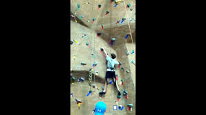 justin wall climbing at lifetime fitness in cary 1 15 13