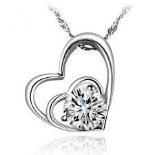 double hearts necklace images Double hearts cubic zirconia pendant necklace v bello eshop png