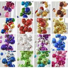 Decoration Round Christmas by Aliexpress Com Buy 60 Pcs Set Or 24pcs Set Christmas Tree Decor