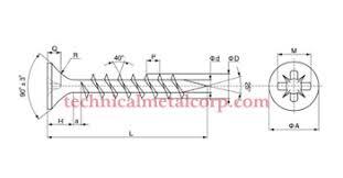 chipboard screws deck stainless steel chipboard screws