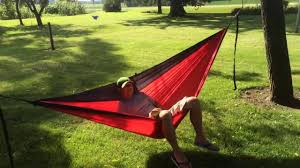 winner outfitters double camping hammock camping gear sawtooth double hammock review youtube