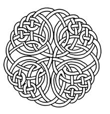 celtic cross coloring pages to print coloringstar
