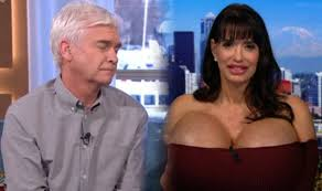 Big Boobs Meme - this morning hosts phillip schofield and holly willoughby quiz