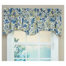 Blue Swag Curtains Living Room Valances Ideas Window Treatments Valances Custom