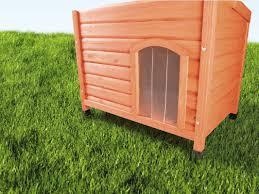 Igloo Dog House Trixie Plastic Door For Flat Roof Dog House U0026 Reviews Wayfair