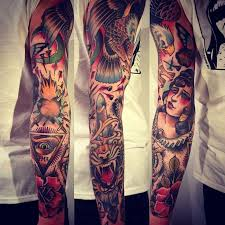 the 25 best traditional tattoo sleeves ideas on pinterest
