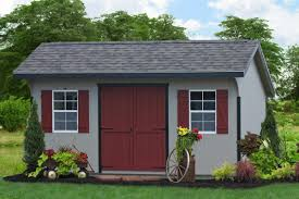 a beautiful collection of amish storage sheds for sale