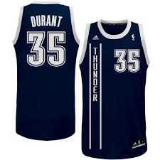 youth oklahoma city thunder kevin durant adidas navy blue replica