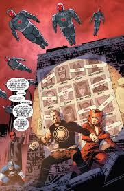 vision and scarlet witch avaerger vs x man of uncanny avengers