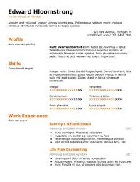 What Special Skills To Put On Resume 19 Google Docs Resume Templates 100 Free