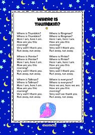 free printable christmas song lyric games where is thumbkin kids song free video song lyrics