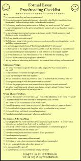 Example Of A Memoir Essay Basic Essay Proofreading Checklist Writing Stuff Pinterest