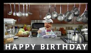 happy birthday from the swedish chef youtube